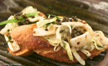 Squid & Fennel Salad on Bruschetta – 69 - 746