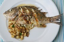 Whole Threadfin Bream baked with Oregano & Chilli – 45 - 774