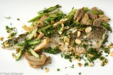 Pan-fried King George Whiting Fillet with Mushroom & Asparagus – 55 - 919