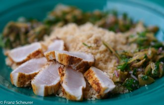 Seared Chermoula Yellowtail Kingfish – 57 – 940/942