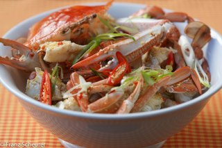Steamed Blue Swimmer Crab with Lemon & Soy Dressing – 82 – 958
