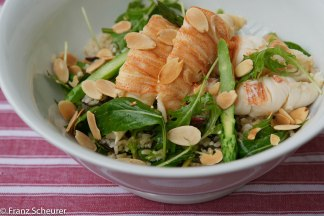 Salad of Morton Bay Bugs and Brown Rice with Sesame Dressing – 74 – 114