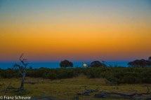 Super Moon over Botswana