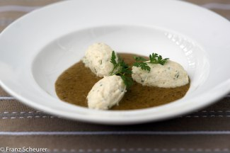 Whiting Quenelle with Sorel Sauce