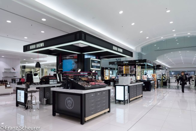 New Counters at MYER Adelaide